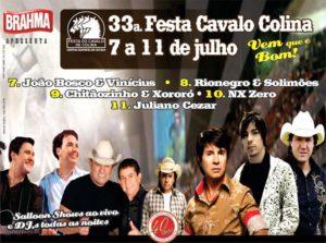 Imagem do post: 33ª Festa do Cavalo em Colina