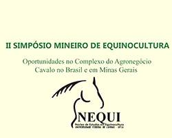 Imagem do post: II Simpósio Mineiro de Equinocultura